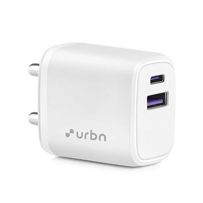 URBN 20W Dual Port Super Fast Charging Wall Adapter
